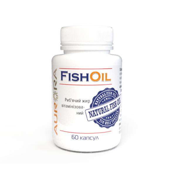 Рыбий жир витаминизированный (FISH-OIL) UA